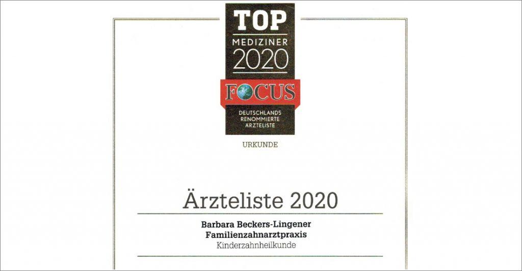 Zahnarzt Sankt Augustin ++ Focus Top-Mediziner 2020